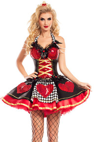Sexy Poker Queen of Hearts Costume