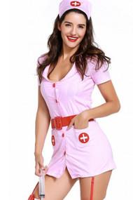 Pink Night Nurse Costume