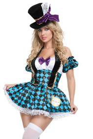 Tempting Mad Hatter Babe Costume