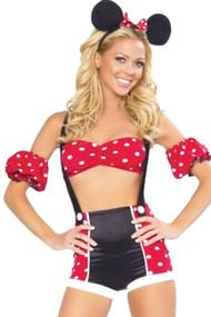 Minnie Boyleg Jumpshorts Costume