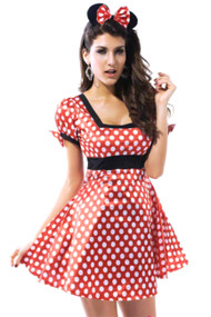 Minnie Skater Babydoll Dress Costume