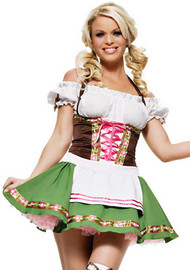 Gretchen German Beer Maiden Costume XL
