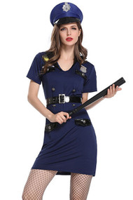 Temptress Cop Costume XL