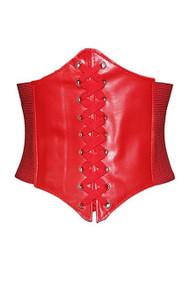 Red Garter Corset Belt