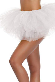 White Tutu Petticoat Short Skirt