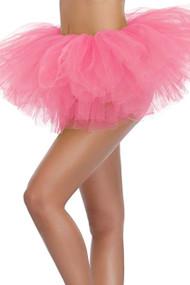 Fuchsia Pink Tutu Petticoat Short Skirt