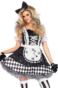 Timeless Sexy Alice Checkered Costume XL