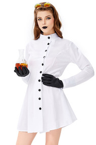 Mad Scientist Babe Costume