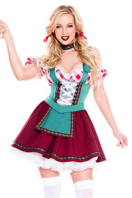 Deluxe Gilda Beer Maid Costume