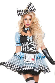 Tea Party Checkered Alice Costume
