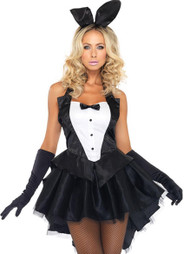 Show Girl Master Tuxedo Bunny Dress Costume