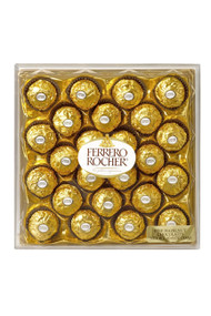 Ferrero Rocher Fine Hazelnut Chocolates - 10oz/24 piece