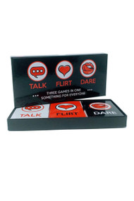 Talk Flirt Dare Intimacy Card Game for Couples