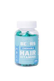Vita Bears Chewable Hair Vitamin Gummies 60pc