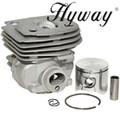 HYWAY HUSQVARNA 357 XP, JONSERED 2156, 46MM PISTON AND CYLINDER KIT 537248502