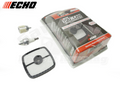 ECHO SRM 210, 225, 265, 2100, GT 200, 225, 230, PB-250, 250LN, PAS 223. 230, 231, 265 , HC, PB AIR FILTER, FUEL FILTER, AND SPARKPLUG KIT 90152Y