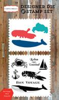 Bon Voyage Die/Stamp Set