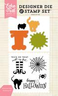 Halloween Tricks Die/Stamp Set