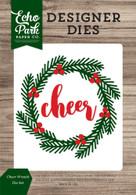 Cheer Wreath Die Set