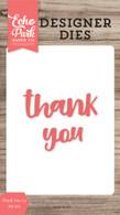 Thank You #3 Word Die Set