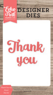 Thank You #4 Word Die Set