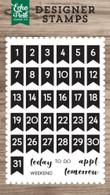 Calendar Days Stamp