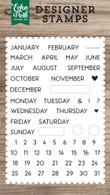 Calendar Essentials Stamp