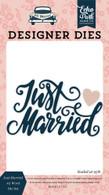Just Married #2 Word Die Set