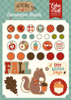 Celebrate Autumn Decorative Brads
