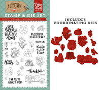 Nuts About You Die/Stamp Set