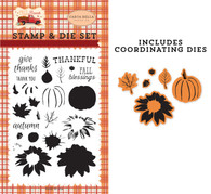 Thankful Layering Die/Stamp Set