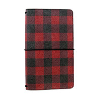 Buffalo Plaid Travelers Notebook