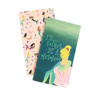 Mermaid Travelers Notebook Insert - Blank