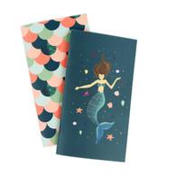 Mermaid Travelers Notebook Insert - Weekly Calendar