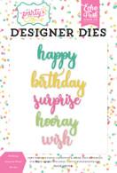 Birthday Surprise Word Die Set