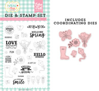 Spring is Here Die & Stamp Set