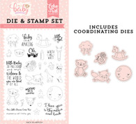 Little Baby Die & Stamp Set