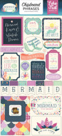 Mermaid Dreams Chipboard Phrases