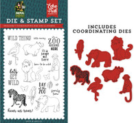 Wild Things Die & Stamp Set