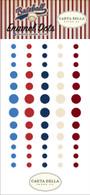 Baseball Enamel Dots