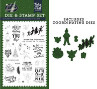 Never Grow Up Die & Stamp Set