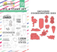 Say Hello To Summer Word & Die Set