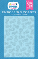 Summer Pineapples Embossing Folder
