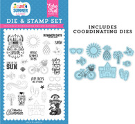 It's Summer Time Die & Stamp Set