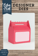 Rectangular Gable Box 3-D Die Set