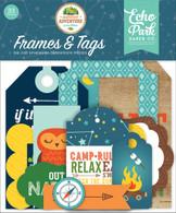 Summer Adventure Frames & Tags Ephemera