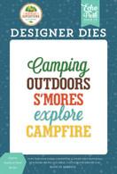 Explore Outdoors Word Die Set