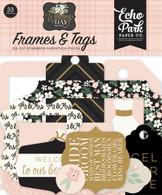 Wedding Day Frames & Tags Ephemera