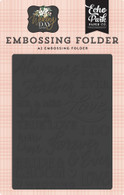 Always & Forever Embossing Folder