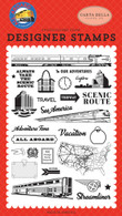 To Our Adventure Stamp
